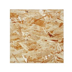 Osb Plywood Small Satin Scarf (square)