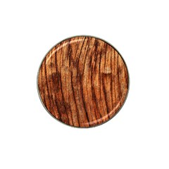 Old Brown Weathered Wood Hat Clip Ball Marker by trendistuff