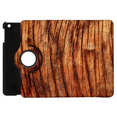 Old Brown Weathered Wood Apple Ipad Mini Flip 360 Case by trendistuff