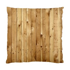 Light Wood Fence Standard Cushion Cases (two Sides)  by trendistuff