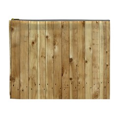 Light Wood Fence Cosmetic Bag (xl) by trendistuff