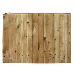 Light Wood Fence Cosmetic Bag (xxl)  by trendistuff