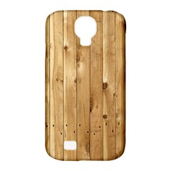 Light Wood Fence Samsung Galaxy S4 Classic Hardshell Case (pc+silicone) by trendistuff