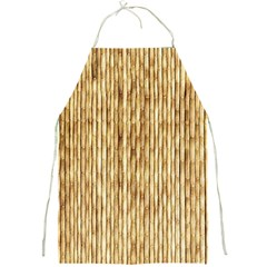 Light Beige Bamboo Full Print Aprons by trendistuff