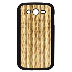 Light Beige Bamboo Samsung Galaxy Grand Duos I9082 Case (black) by trendistuff