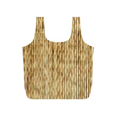Light Beige Bamboo Full Print Recycle Bags (s)  by trendistuff