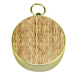 Light Beige Bamboo Gold Compasses by trendistuff