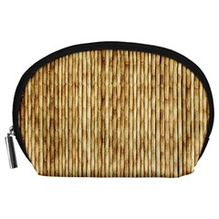 Light Beige Bamboo Accessory Pouches (large)  by trendistuff