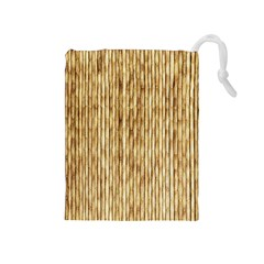 Light Beige Bamboo Drawstring Pouches (medium)  by trendistuff