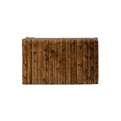 Knotty Wood Cosmetic Bag (small)  by trendistuff