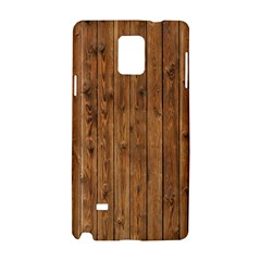 Knotty Wood Samsung Galaxy Note 4 Hardshell Case by trendistuff