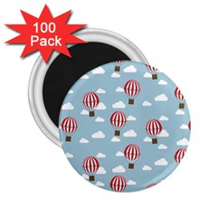 Hot Air Balloon 2 25  Magnets (100 Pack)  by Kathrinlegg