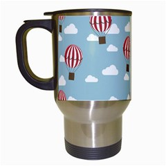 Hot Air Balloon Travel Mugs (white) by Kathrinlegg