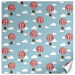Hot Air Balloon Canvas 20  X 20   by Kathrinlegg