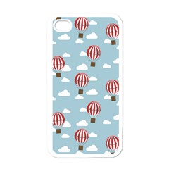 Hot Air Balloon Apple Iphone 4 Case (white) by Kathrinlegg