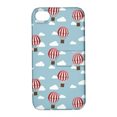 Hot Air Balloon Apple Iphone 4/4s Hardshell Case With Stand by Kathrinlegg