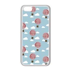 Hot Air Balloon Apple Iphone 5c Seamless Case (white) by Kathrinlegg