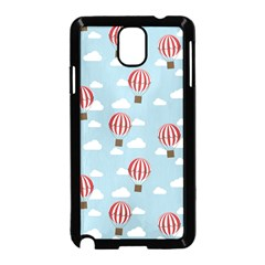 Hot Air Balloon Samsung Galaxy Note 3 Neo Hardshell Case (black) by Kathrinlegg