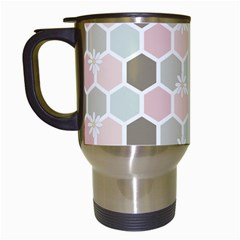 Spring Bee Travel Mugs (white) by Kathrinlegg