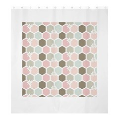 Spring Bee Shower Curtain 66  X 72  (large)  by Kathrinlegg