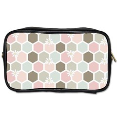 Spring Bee Toiletries Bags 2 Side