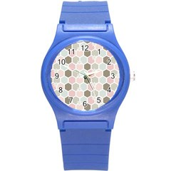 Spring Bee Round Plastic Sport Watch (s) by Kathrinlegg