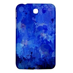 Splashes Of Color, Blue Samsung Galaxy Tab 3 (7 ) P3200 Hardshell Case  by MoreColorsinLife