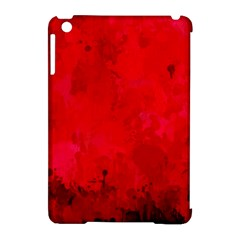 Splashes Of Color, Deep Red Apple Ipad Mini Hardshell Case (compatible With Smart Cover) by MoreColorsinLife