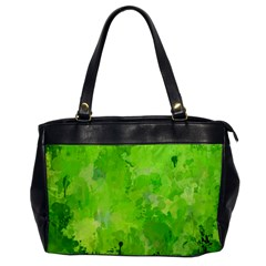 Splashes Of Color, Green Office Handbags by MoreColorsinLife