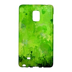 Splashes Of Color, Green Galaxy Note Edge by MoreColorsinLife