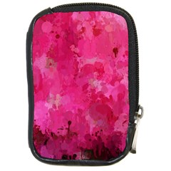 Splashes Of Color, Hot Pink Compact Camera Cases by MoreColorsinLife