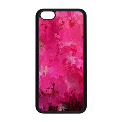 Splashes Of Color, Hot Pink Apple Iphone 5c Seamless Case (black) by MoreColorsinLife