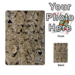 Grey Tree Bark Playing Cards 54 Designs