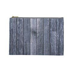 Grey Fence Cosmetic Bag (large)  by trendistuff