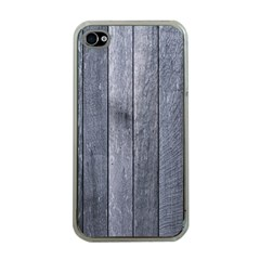 Grey Fence Apple Iphone 4 Case (clear) by trendistuff