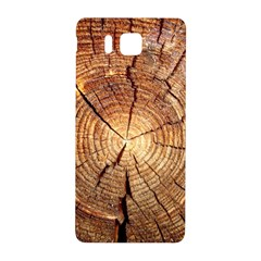 Cross Section Of An Old Tree Samsung Galaxy Alpha Hardshell Back Case by trendistuff