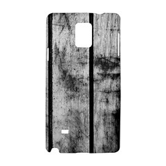 Black And White Fence Samsung Galaxy Note 4 Hardshell Case by trendistuff