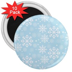 Frosty 3  Magnets (10 Pack)  by Kathrinlegg