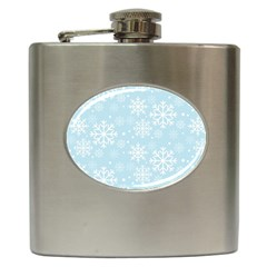 Frosty Hip Flask (6 Oz) by Kathrinlegg
