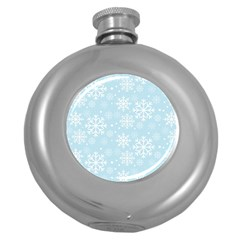 Frosty Round Hip Flask (5 Oz) by Kathrinlegg