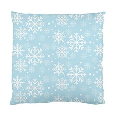 Frosty Standard Cushion Case (one Side)  by Kathrinlegg