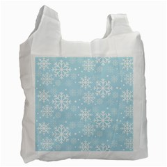 Frosty Recycle Bag (one Side) by Kathrinlegg