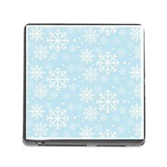 Frosty Memory Card Reader (square) by Kathrinlegg