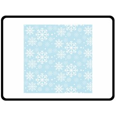 Frosty Fleece Blanket (large)  by Kathrinlegg