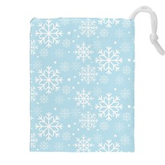 Frosty Drawstring Pouches (xxl) by Kathrinlegg