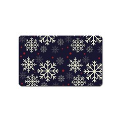 Snowflake Magnet (name Card) by Kathrinlegg