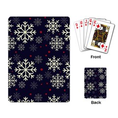 Snowflake Playing Card by Kathrinlegg