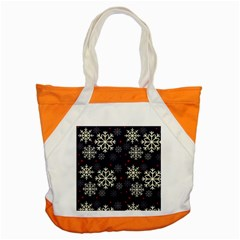 Snowflake Accent Tote Bag  by Kathrinlegg