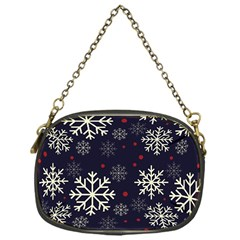 Snowflake Chain Purses (one Side)  by Kathrinlegg