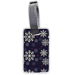 Snowflake Luggage Tags (one Side)  by Kathrinlegg